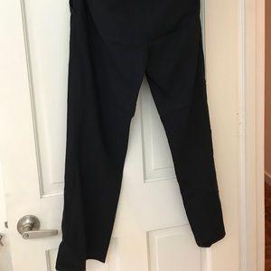 DKNY straight leg dark navy trousers size 4